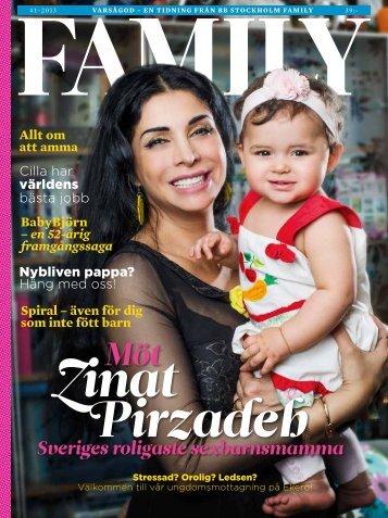 Sveriges roligaste sexbarnsmamma - BB Stockholm Family