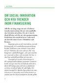 ABC i SoCiAlA inveSteringAr - Mötesplats Social Innovation - Page 4