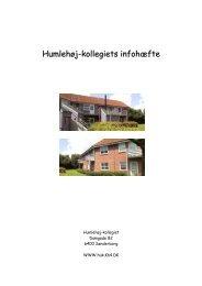 Humlehøj-kollegiets infohæfte - Kollegiernes Kontor