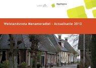 Welstandsnota Menameradiel Actualisatie 2012 - Gemeente ...