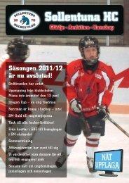 SHC Nät Nr1 2012.indd - Sollentuna HC