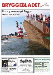 Farverig sommer på Bryggen - Bryggebladet