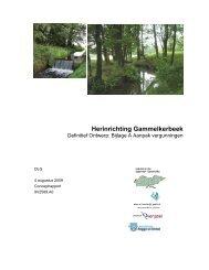 Herinrichting Gammelkerbeek - Landinrichting Saasveld-Gammelke
