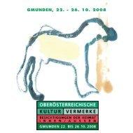 GMUNDEN, 22. - 26. 10. 2008 - Traunsteinregion