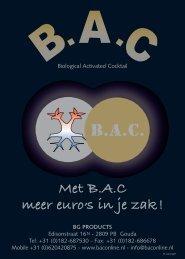 B.A.C. Minerale Folder