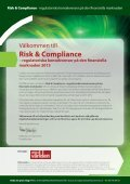 – regulatoriska konsekvenser på den finansiella marknaden - Page 2