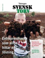 Ladda ner nr 1/2013 - Branschföreningen Svensk Torv