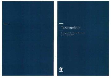 Taxiregulativ Odense - Taxa Fyn