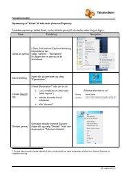 """Opsætning af """"Kiosk"""" til Info-tavle (Internet Explorer ... - Tabulex"""