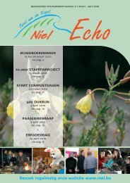 Niel Echo - Editie april - juni 2010 - FotoNiel