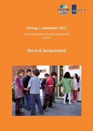 Werk & Inclusiviteit - Forum, Instituut voor Multiculturele ...