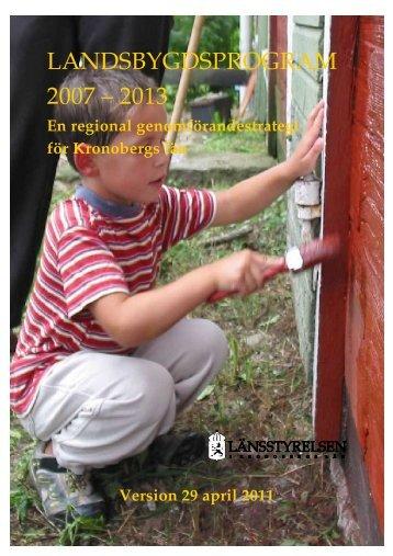 Genomförandestrategi för Kronobergs län - Skogsstyrelsen