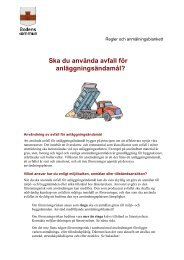 Anmälan om användning av avfall för ... - Bodens kommun
