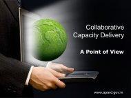 Collaborative Capacity Delivery