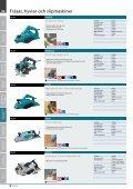 Fräsar, hyvlar och slipmaskiner - Page 2