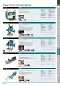 Fräsar, hyvlar och slipmaskiner - Page 3