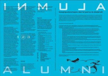 Alumni Nieuwsbrief 7 - Faculteit der Bewegingswetenschappen