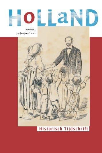 2002 nummer 4 34e jaargang * 2002 - Holland Historisch Tijdschrift