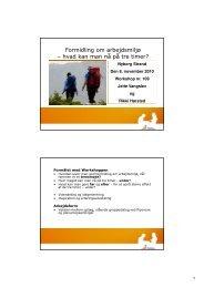 (Microsoft PowerPoint - Opl\346g til workshop om AM formidling[1 ...