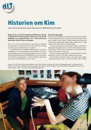 Historien om Kim - Institut for Syn og Hørelse - Region Nordjylland