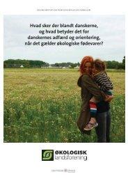 Ny rapport v. Eva Steensig - Økologisk Landsforening