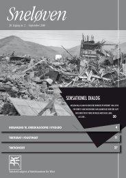 Sneløven 2010, 20. årgang nr. 2 (hent pdf) - Støttekomiteen for Tibet