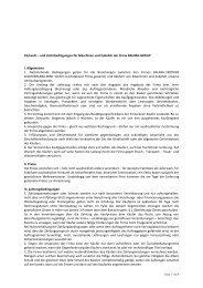 Verkaufs – und Lieferbedingungen für ... - BAUMA-RENT GmbH