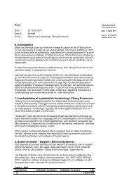 0. Introduktion 1. Iværksættelse af systematisk ... - Viborg Kommune