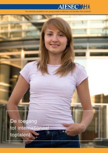 AIESEC Brochure - Leiden Bio Science Park