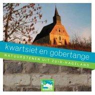 kwartsiet en gobertange - Regionaal Landschap Zuid Hageland