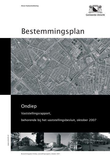 Bestemmingsplan - Gemeente Utrecht