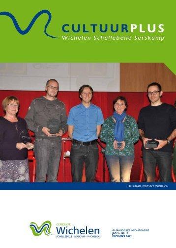 Cultuurplus december 2012.pdf - Gemeente Wichelen