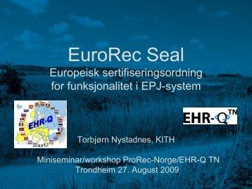 EuroRec Seal