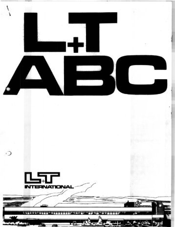 L+TABC - In 1984 ben ik bij L+T International (later L+T Informatica ...
