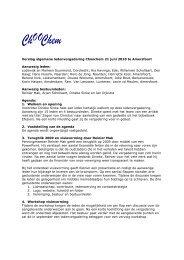 Verslag ledenvergadering 21 juni 2010 [PDF] - Choochem