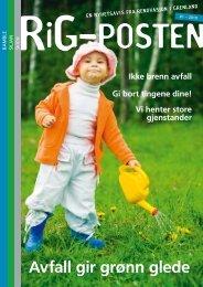 Avfall gir grønn glede - Renovasjon i Grenland