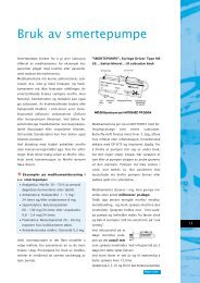 Bruk av smertepumpe - CsCi protocol (110KB)