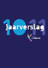 Jaarverslag Kindante 2010-2011