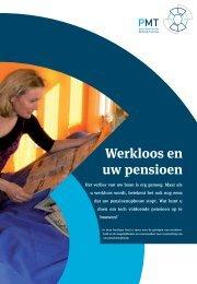 Werkloos en uw pensioen - Pensioenfonds Metaal en Techniek