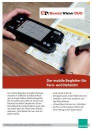 Der mobile Begleiter für Fern- und Nahsicht - BAUM Retec AG