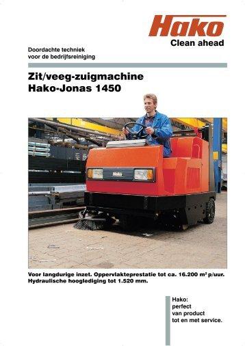 Jonas 1450.indd - Gebr. Weststrate BV