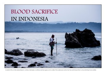 BLOOD SACRIFICE IN INDONESIA - James Morgan Photography