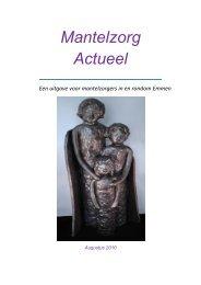 Mantelzorg Actueel Augustus 2010 - Emmermeer