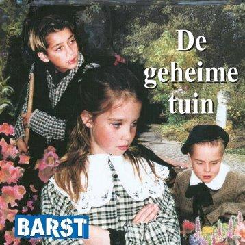 geheime tuin boekje - Theater groep Barst