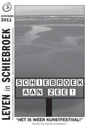 S C H I E B R O E K A A N Z E E ! - Leven in Schiebroek