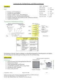 Automatische Sichtprüfung und Bildverarbeitung