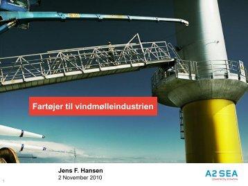 Fartøjer til offshore vindmølleindustrien - Norsk Industri