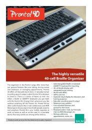 Pronto! 40 PDF brochure - BAUM Retec AG