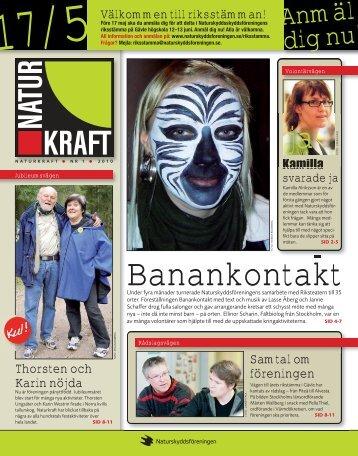 2010:1 Banankontakt - Naturskyddsföreningen