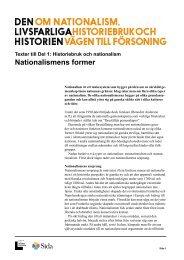 Nationalismens former.pdf - Forum för levande historia